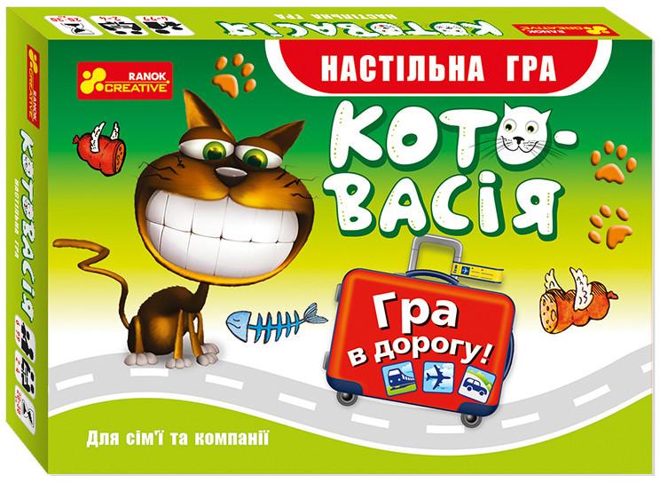 Гра настільна «Котовасия» (12170010У)