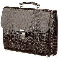 Портфель мужской KARYA 17274 кожаный Коричневый, фото 1