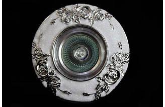Точечный классический врезной светильник под сменную лампу мр16&3174 CR