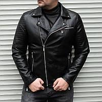 Мужская куртка косуха из кож зама Сл 1770, фото 1