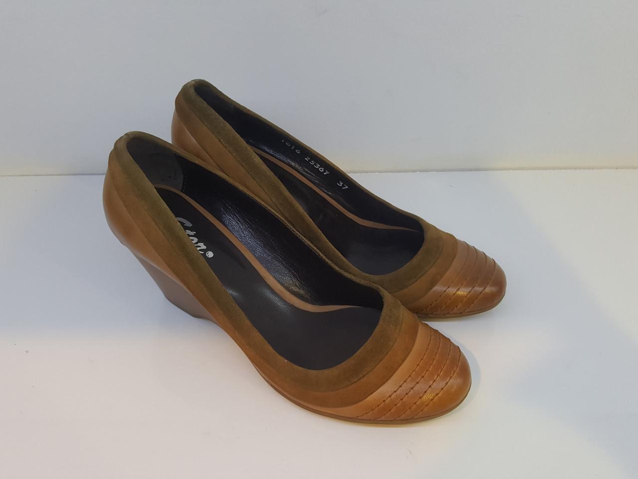 Туфли Etor 1616-5061 37 коричневые