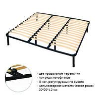 Каркас кровати с орто-основанием 2000*2000 ХХXL (25мм), тм ORTOLAND