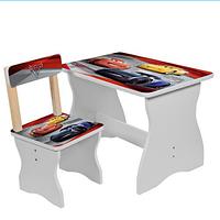 Детский столик со стульчиком 504-52 Тачки.