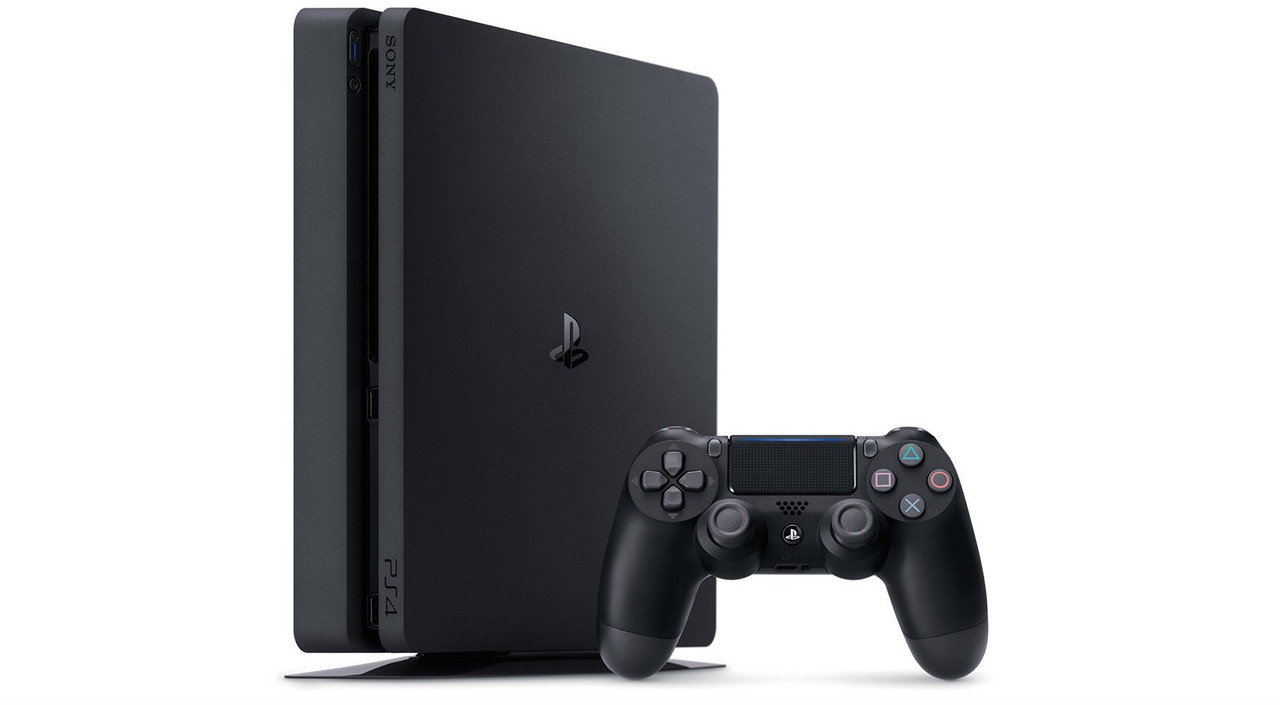 Sony Playstation 4 Slim 500GB (Black)