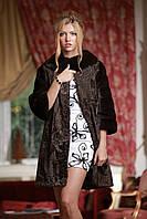 Шуба из каракульчи и норки NAFA swakarabroadtail jacket coat furcoat