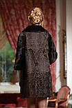 Шуба из каракульчи и норки NAFA swakara broadtail jacket coat furcoat, фото 2