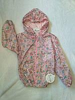 Куртка ветровка для девочки раз. 4-5-6 лет. Турция