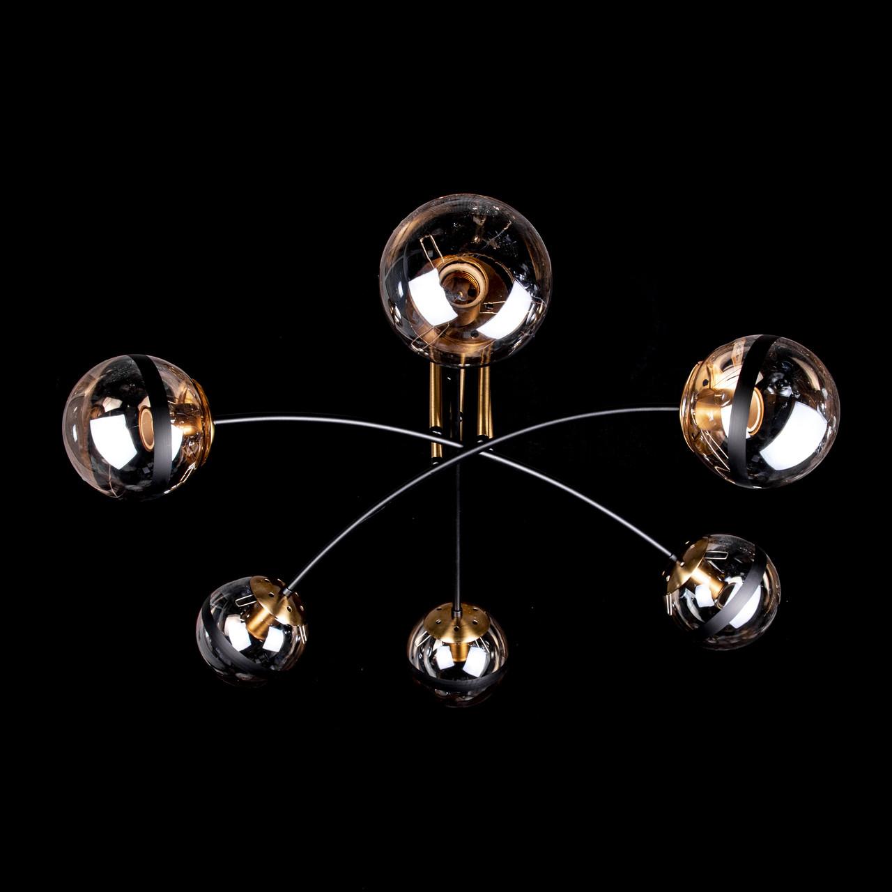 Люстра лофт на 6 лампочек P5-N3628/6
