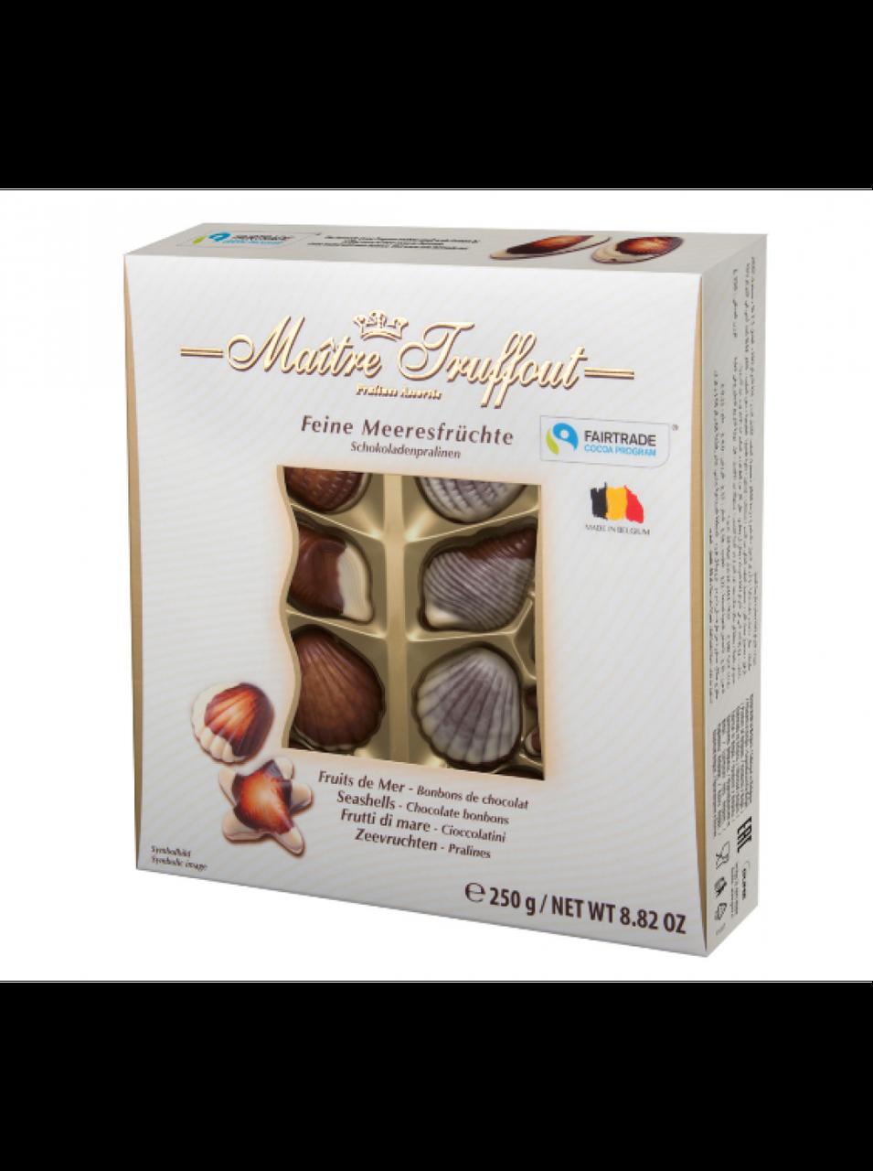 Шоколадные конфеты в коробке Maitre Truffout Feine Meeresfruchte, 250г Австрия