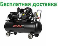 Компрессор воздушный Dnipro-M AC-100 VG + Набор пневмоинструмента AS-5