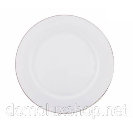 DPL Wave White Тарелка обеденная 280 мм (000908)