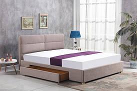 Ліжко MERIDA 160 бежевий Halmar