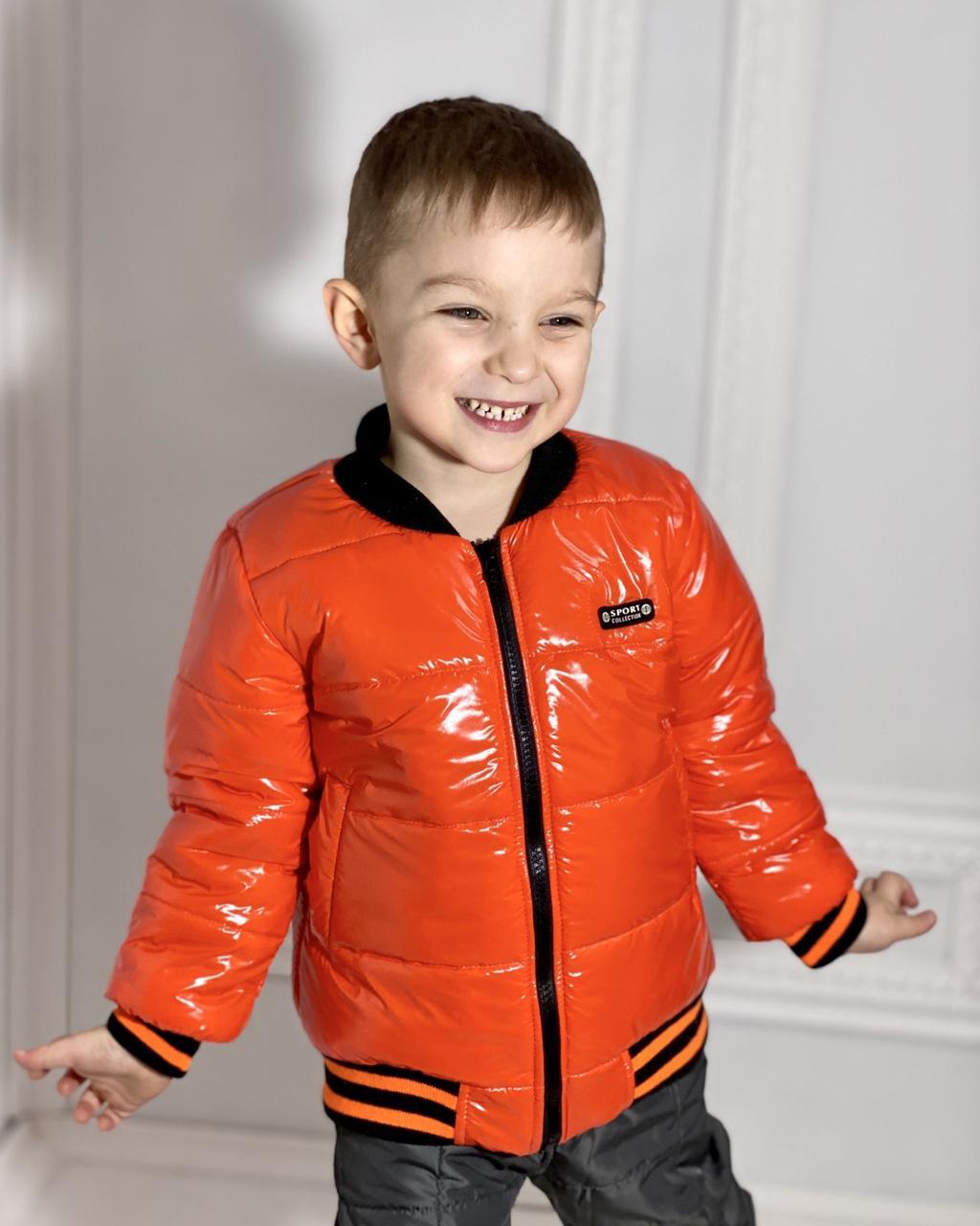 Куртка на мальчика деми БОМБЕР МОНКЛЕР р. 104-110-116-122