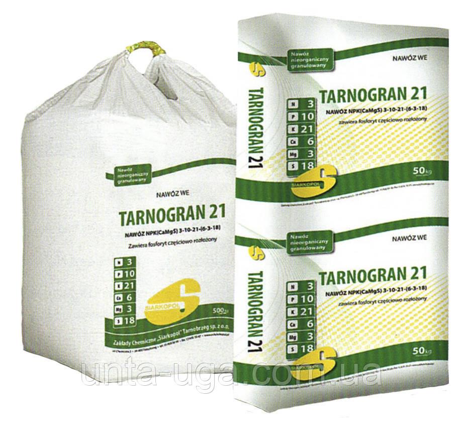 Тарногран 21 універсальне добриво NPK (Ca, Mg, S) 3-10-21 (6-3-18)