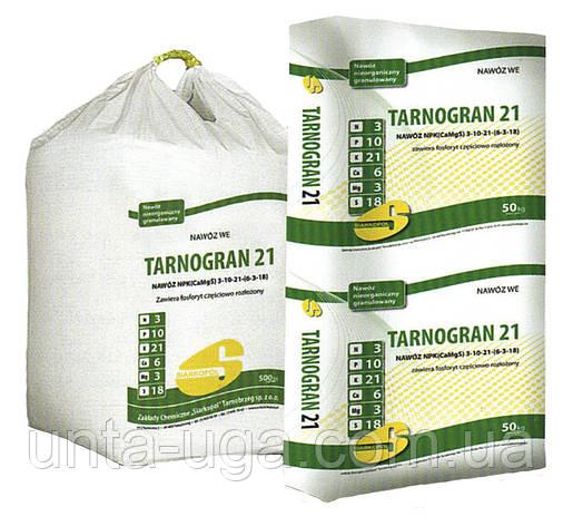 Тарногран 21 універсальне добриво NPK (Ca, Mg, S) 3-10-21 (6-3-18), фото 2