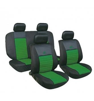 Чехлы авто сидений комплект синие Tango Milex Польша зеленый