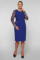 Нарядное  платье Адель индиго