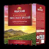 """Чай чорний індійський Майский """"Класичний Високогірний"""", 100 пакетиків"""