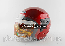 Шолом для мотоцикла Hel-Met FXW 200 (червоний колір), фото 3
