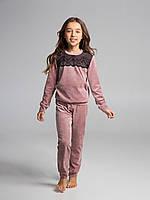 Комплект велюровый для девочки, рост 146 см