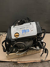 Двигатель Opel Astra G 1997 р. 1,6  GM 90400054