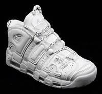 Кроссовки женские Nike Air More Uptempo белые