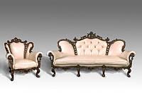 Комплект мягкой мебели Изабелла (кожа) Курьер
