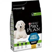 Puppy LARGE Robust 12кг Purina Pro Plan Для щенков крупных пород с курицей и рисом