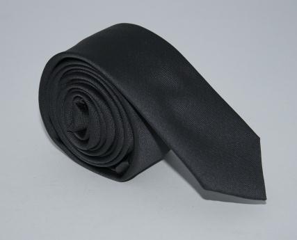 Галстук серый узкий