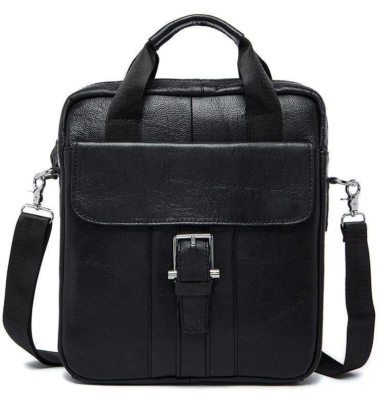 Сумка мужская Vintage 14674 Черная, Черный