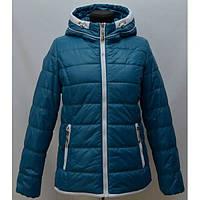 Модная женская куртка демисезонная утеплитель холофайбер
