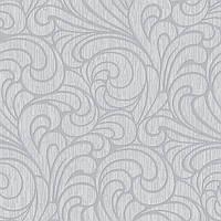 Обои бумажные акриловые (пенообои) 0,53*10,05  узор  Слобожанские серый