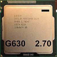 Процессор Intel Pentium G630 Q0 SR05S 2.70GHz 3M Cache 1066MHz  FCLGA 1155 Б/У - МИНУС