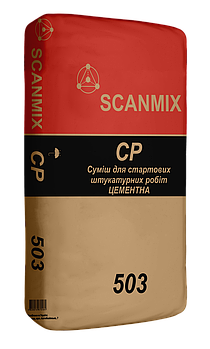 Цементная штукатурка 503  SCANMIX CP