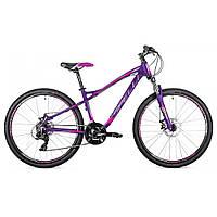 Женский горный велосипед Spelli SX 3200 фиолетовый на колесах 26 дюймов, рама 15'