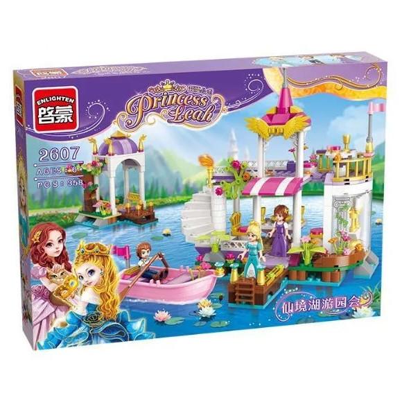 """Конструктор Enlighten Brick 2607 Princess Leah """"Причал принцессы"""", 358 дет"""