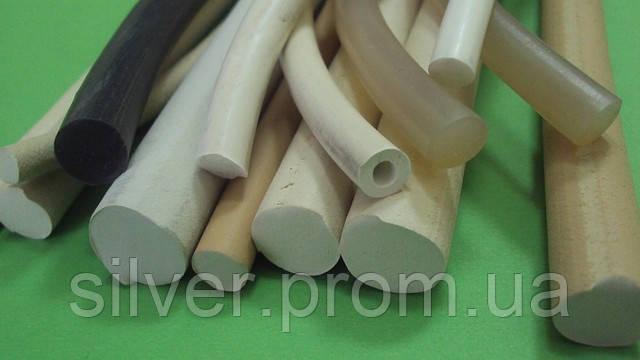 Шнуры резиновые пористые, силиконовые, пищевые, вакуумные,термостойкие