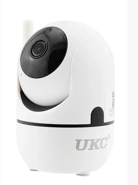 Камера видеонаблюдения с датчиком движения ночным видением и панорамным обзором Wi Fi Y13G