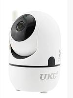 Камера видеонаблюдения с датчиком движения ночным видением и панорамным обзором Wi Fi Y13G, фото 1