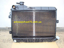 Радиатор Ваз 2106, Ваз 2103 (медно-латунный, 2-х рядный , Оренбург, Россия)