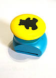 Дырокол фигурный для детского творчества JF-823С, мишка., фото 2