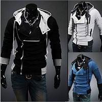 Стильная толстовка , реглан, куртка L, XL, XXL черная
