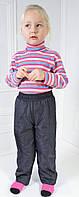 Детские деми штанишки Канада на флисе 98-104-110-116, фото 1