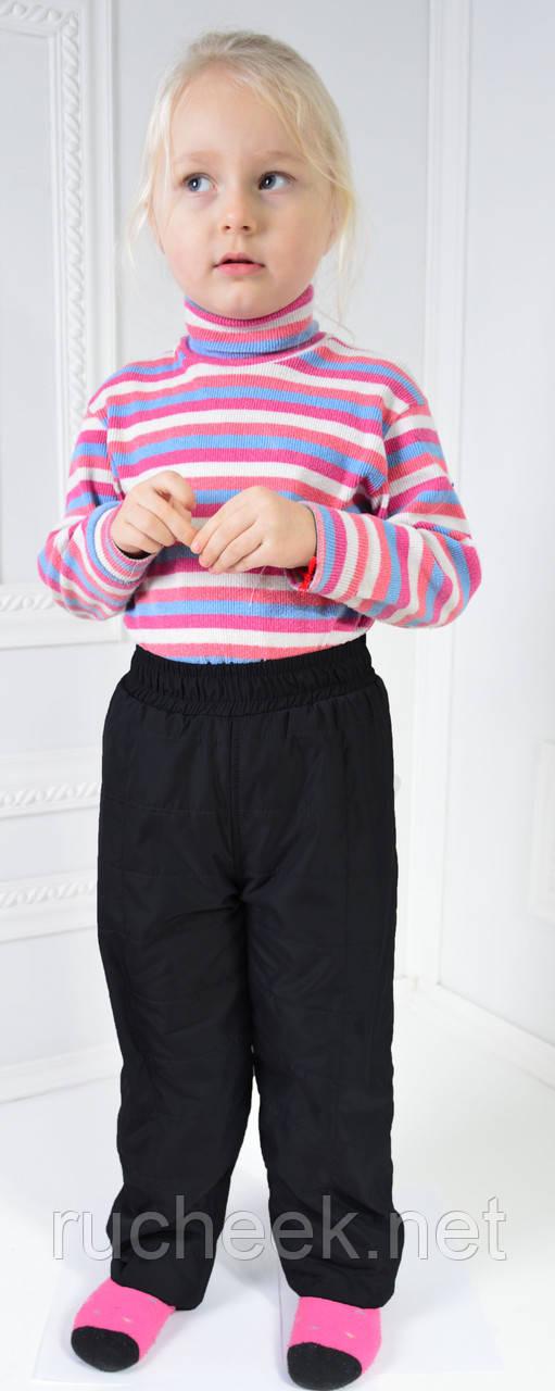 Детские деми штанишки Канада на флисе 98-104-110-116