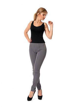 Красивые качественные прямые брюки средней посадки, 42-46., фото 2