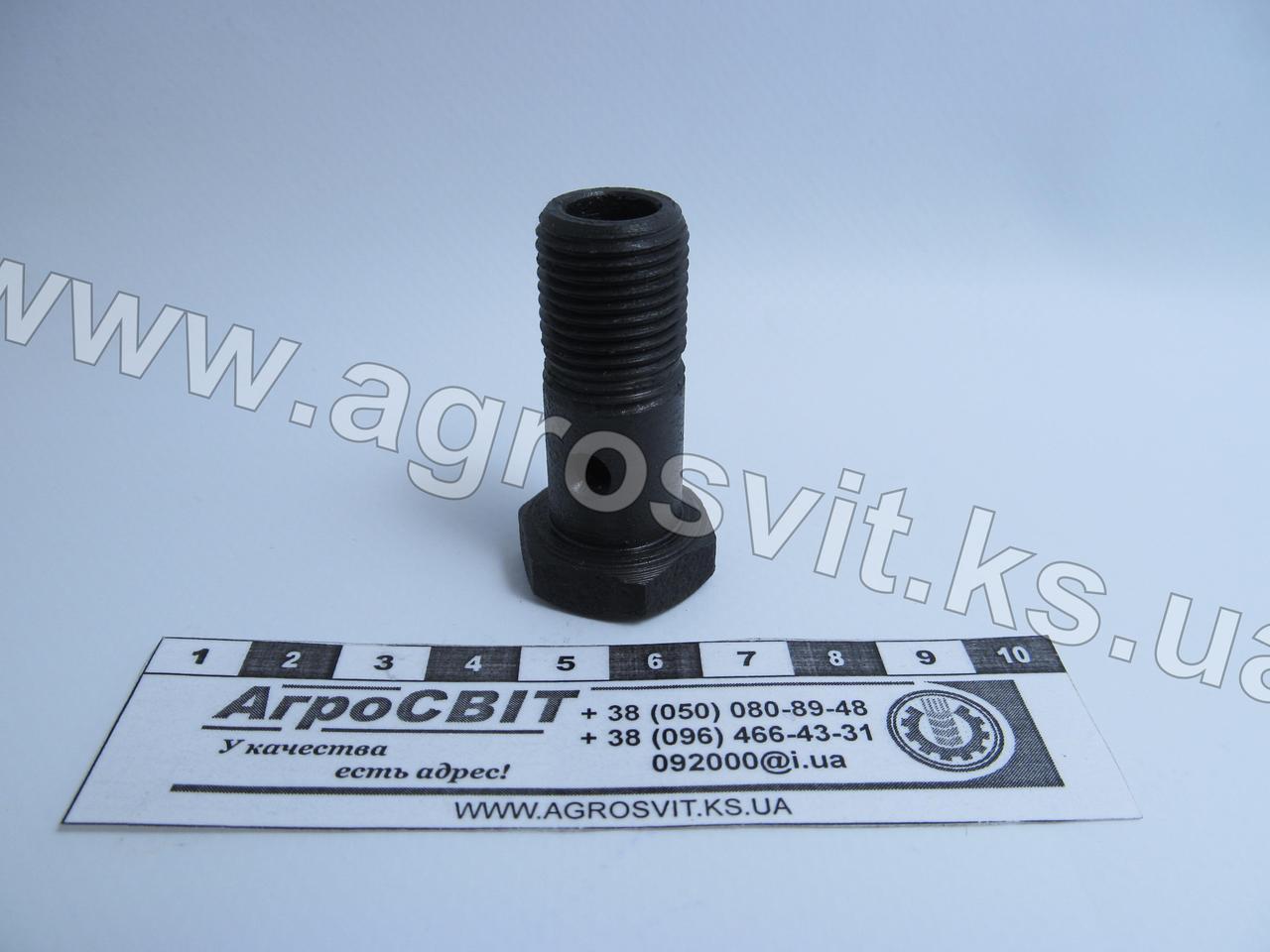 Болт-штуцер М16х1,5 х 48 (под 1 наконечник), кат. № 310264-П29