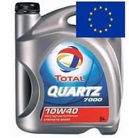 Масло моторное полусинтетическое Total Quartz 7000 10W-40 5 литров Тотал кварц 10в-40 из