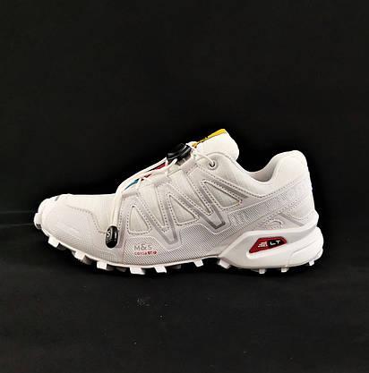 Кросівки Salomon Speedcross 3 Білі Чоловічі Саломон (розміри: 41) Відео Огляд, фото 3