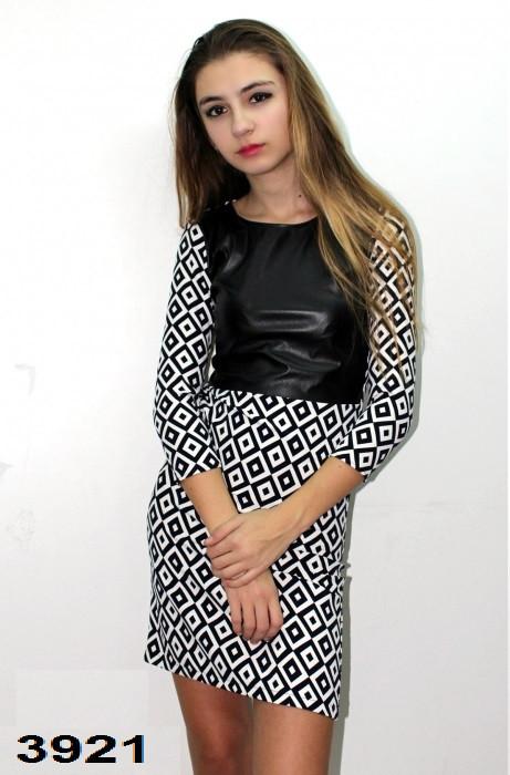 Повседневное женское платье размеры 38-46