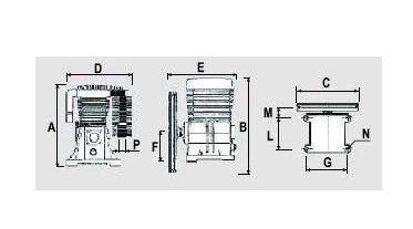 Компрессорная головка ABAC B2800B, фото 2